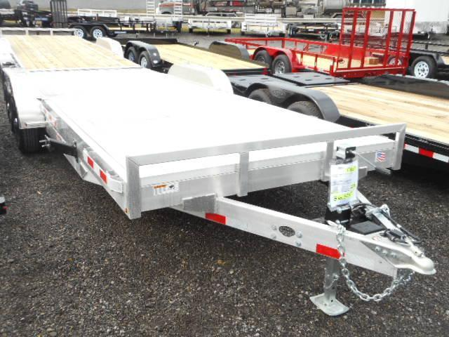 2018 H and H Trailer 82x182 Aluminum Heavy Duty 10K Car / Racing Trailer