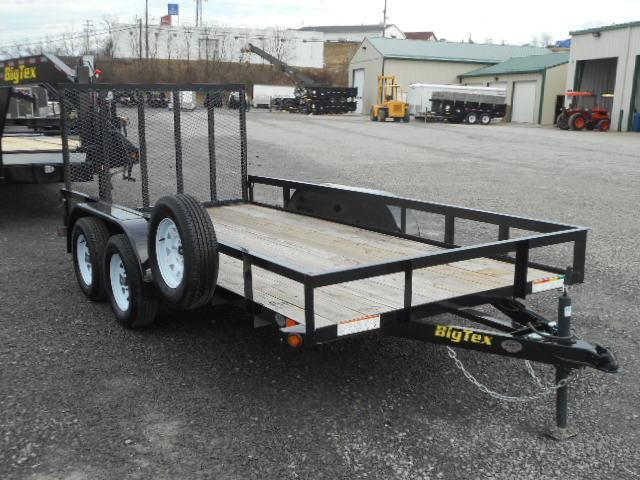 2017 Big Tex Trailers 50LA 6-1/2x14 Tandem Axle Utility