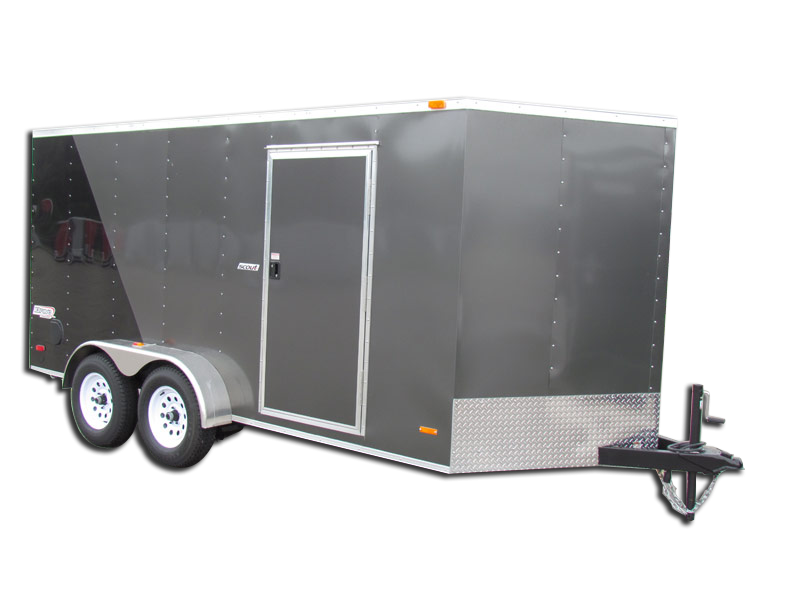 2019 Bravo Trailers 7X16 TA Scout with 12'' Extra Height