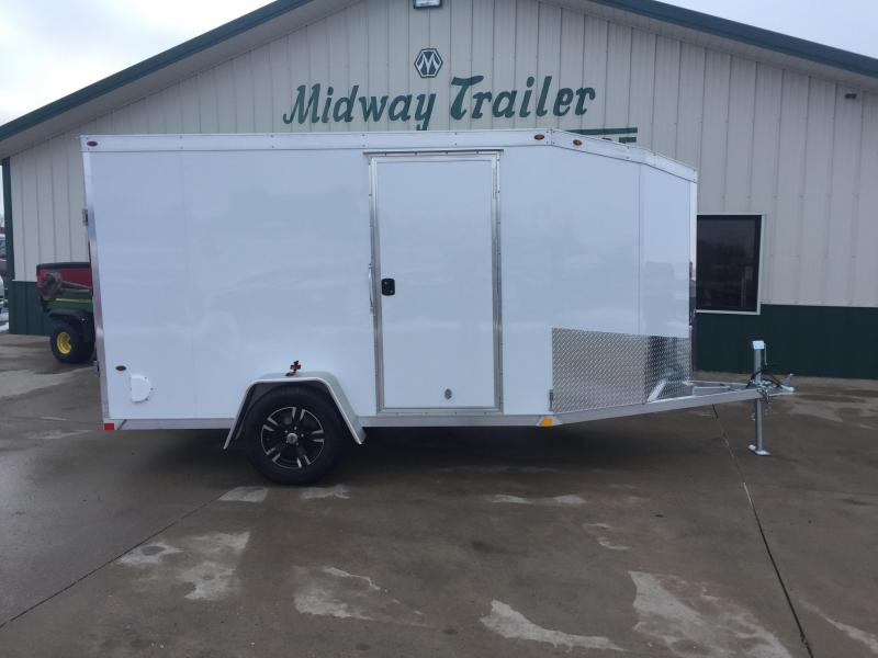 2018 Interstate 6 X 10 ONE Enclosed Cargo Trailer - White