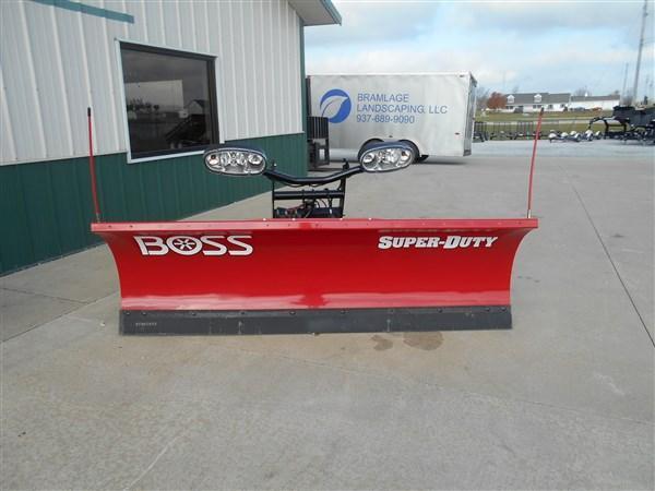 8' Boss Straight Plow