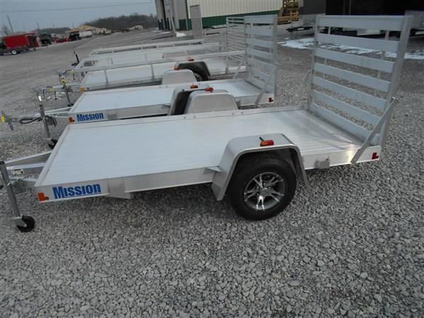 Mission 5X10 Duralite Utility Trailer