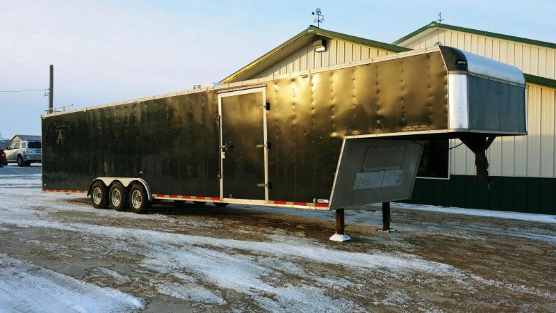 1998 United Trailers 8.5'x42' Gooseneck Racing Enclosed Cargo Trailer