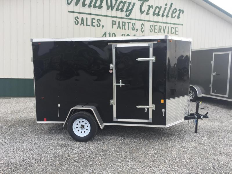 2018 Interstate 6 X 10 Enclosed Cargo Trailer-Black
