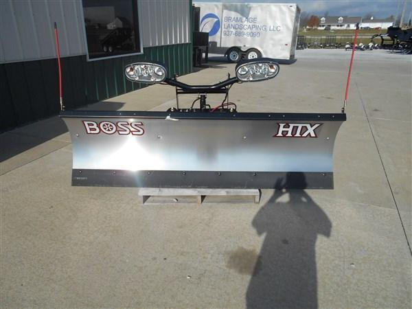 """7' 6"""" Boss HTX Stainless Plow"""