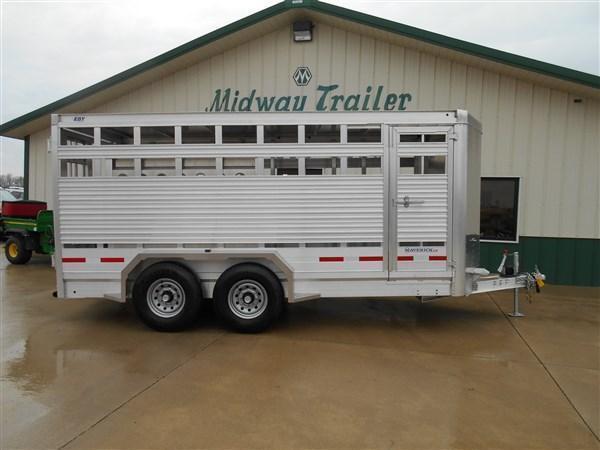 Eby 16 x 6.5 x 6.5 Bumper Pull Livestock Trailer