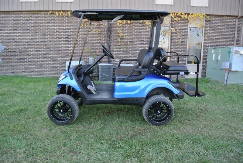 Call today for $250 off any golf cart or a $350 in store credit with purchase of any golf cart