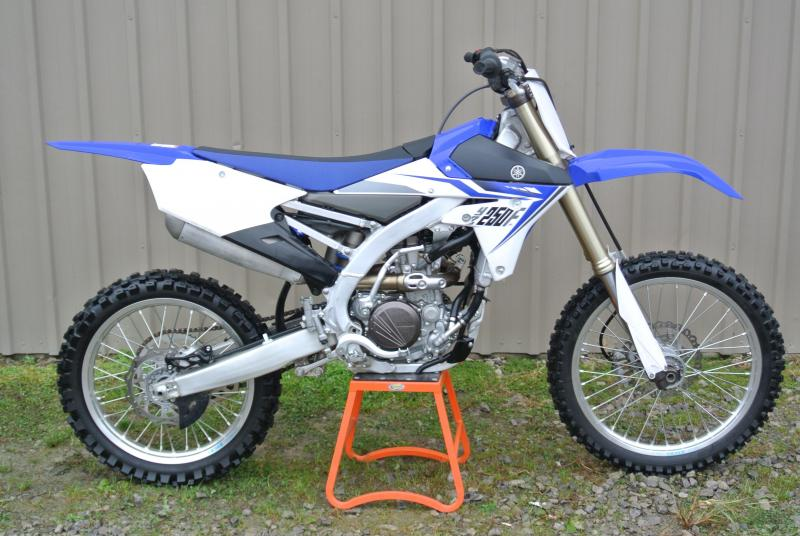 2014 Yamaha YZ250F Motorcycle For Parts or Repair