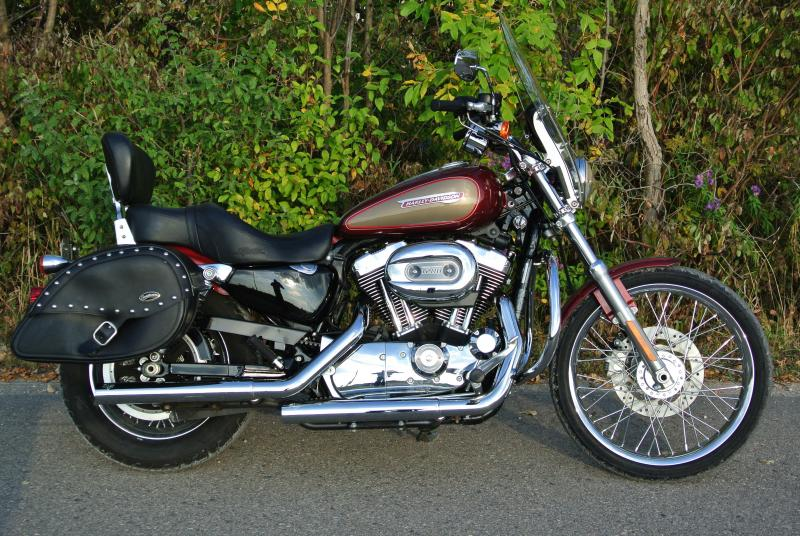 2009 Harley Davidson XL 1200 Custom Motorcycle #3163