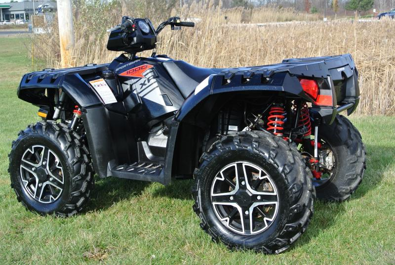 2015 POLARIS SPORTSMAN 1000 XP EPS Black & Orange #7637