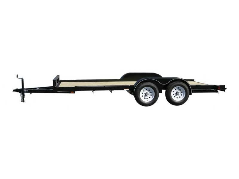 2016 Carry-On 7x18 Double Axle Car / Racing Trailer