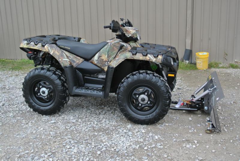 2011 POLARIS SPORTSMAN 550 PURSUIT CAMO EPS  ATV 4X4 #8806
