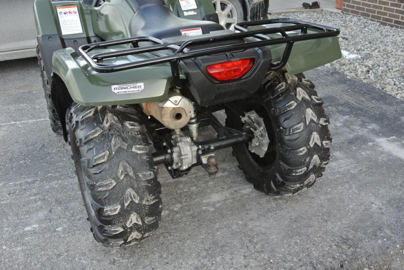 2014 HONDA TRX420FPA2E FOURTRAX RANCHER (AUTOMATIC TRANSMISSION  ELECTRIC POWER STEERING)  Winch