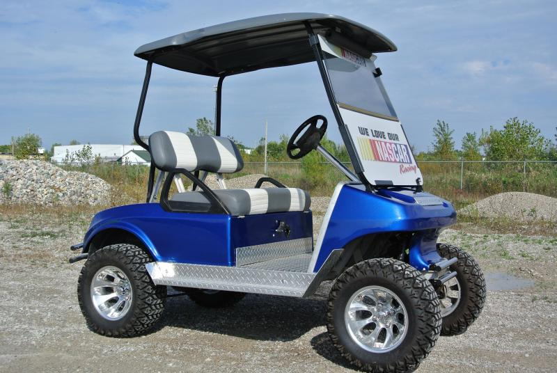 1992 Club Car Custom Lifted 36V Electric Golf Cart | Power Sports ...