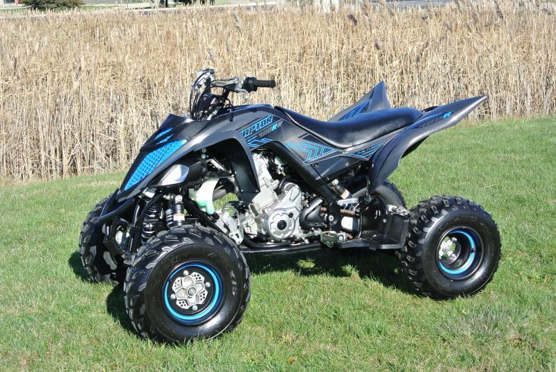 2017 YAMAHA RAPTOR 700R Special Edition Sport ATV #8448