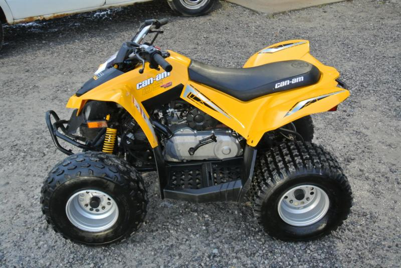 2008 Can Am DS 70 Youth ATV Kids