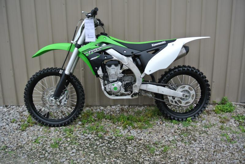 Yamaha YZ450F Kawasaki KX450F and Honda CRF Off Road Motorcycles **On Sale** Now.