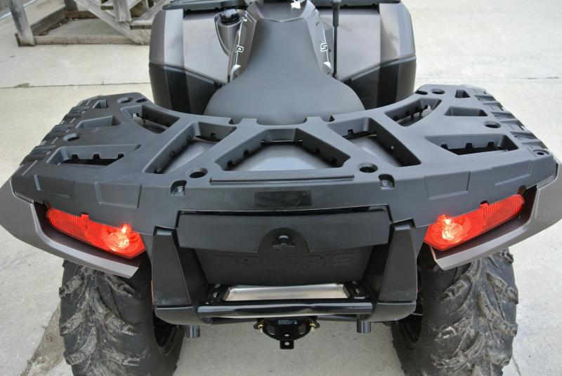 2016 POLARIS SPORTSMAN 850 SP EPS ATV 4X4 With Plow and Winch  #4949