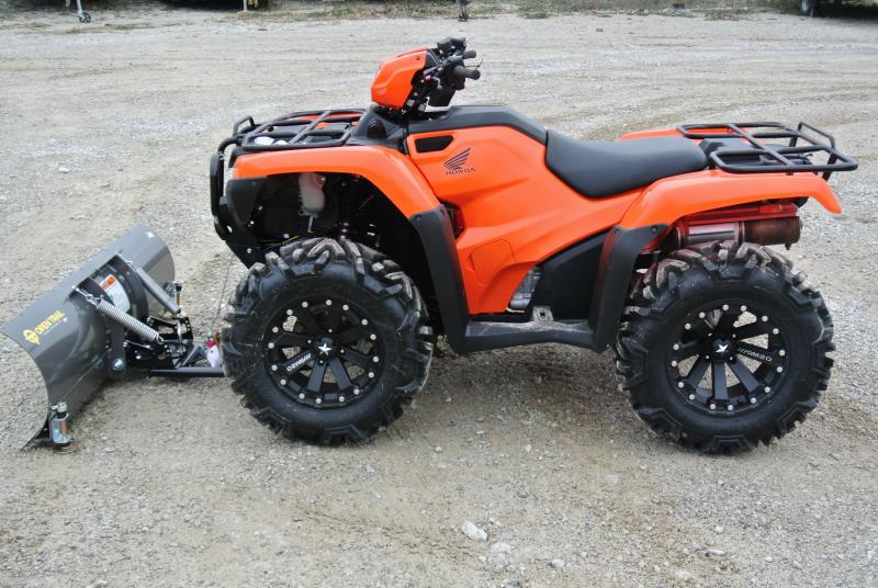 2016 Honda  TRX500FE1G Foreman 500 ATV With Plow and Winch #0567