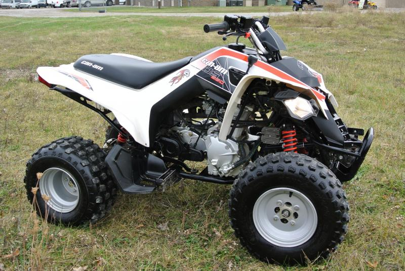 2009 Can Am DS 250 Youth ATV Kids #0528