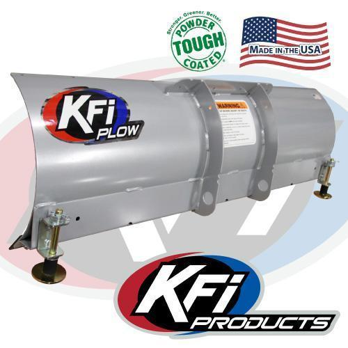 "2017 KFI 60"" Open Trail Plow and Winch System"