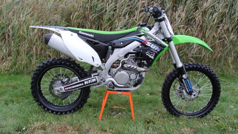 2015 Kawasaki KX450F Motorcycle MX Dirt bIke #2541