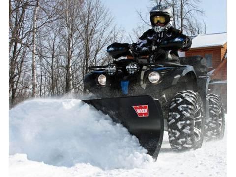 2017 Warn ATV and UTV Snowplow and Winch System