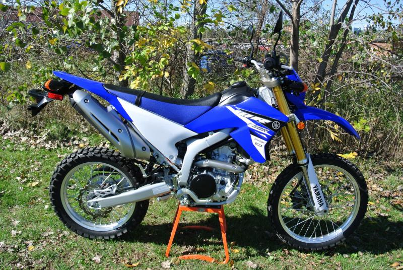 2015 Yamaha WR 250 RFC Street Legal Dual Sport Motorcycle #7152