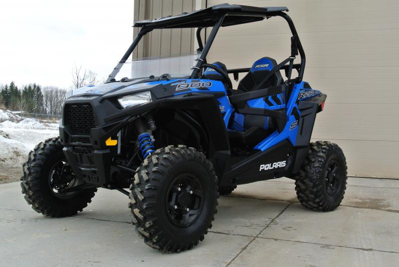 2017 POLARIS RZR S 900 (ELECTRIC POWER STEERING) BLUE #6900