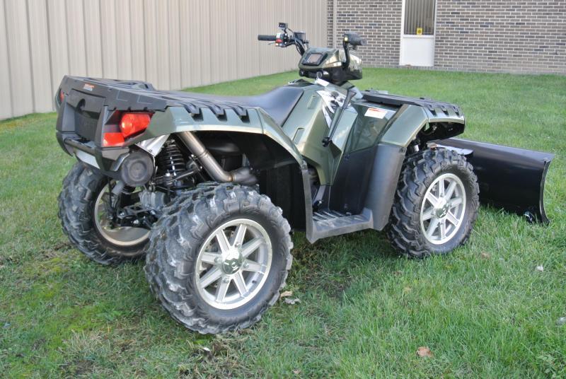 2010 Polaris Sportsman 850 XP EPS ATV With Winch/Plow #5799