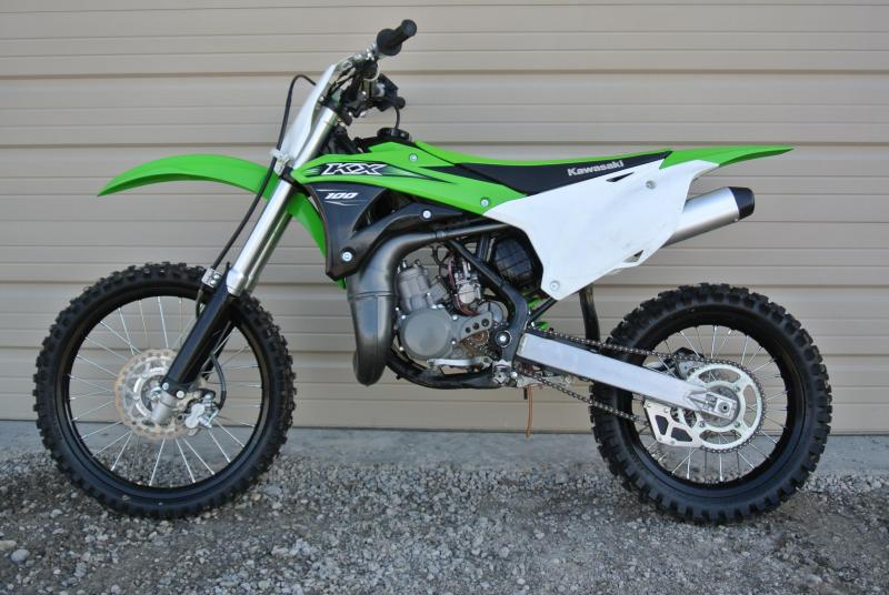 2016 Kawasaki KX100 Motorcycle MX Dirt bIke #5669