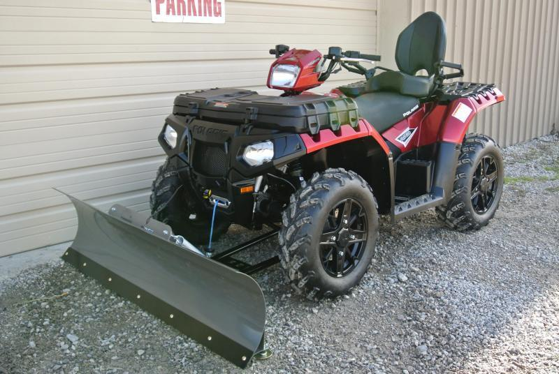 $350 OFF Any In Stock Polaris Sportsman Honda Rancher and Foreman & CanAm Utility ATV's With Plows Installed **On Sale** Now Thru Dec 31st.