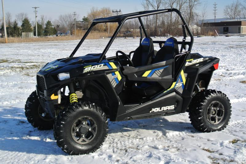 2015 POLARIS RZR S 900 EPS BLACK #3824