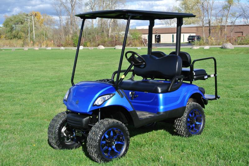 2014 Yamaha DRIVE Gas golf cart.