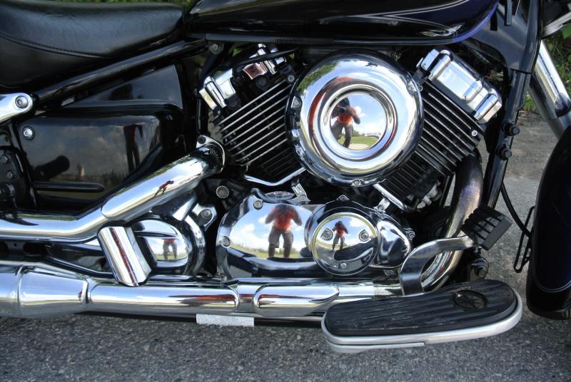 2007 Yamaha V Star 650 Motorcycle #3655