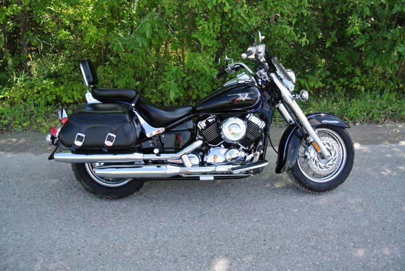 2007 Yamaha V Star 650 Motorcycle #3655