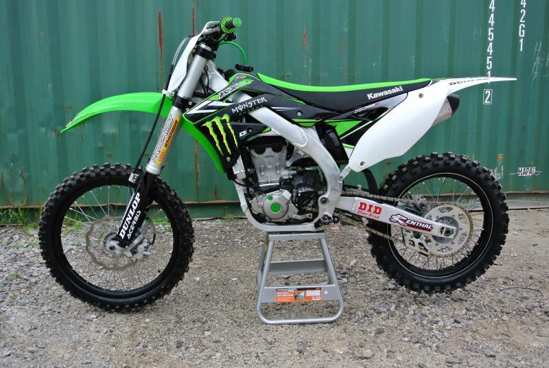 2015 Kawasaki KX450F Motorcycle MX Dirt Bike MONSTER ENERGY 6033 4 Stroke