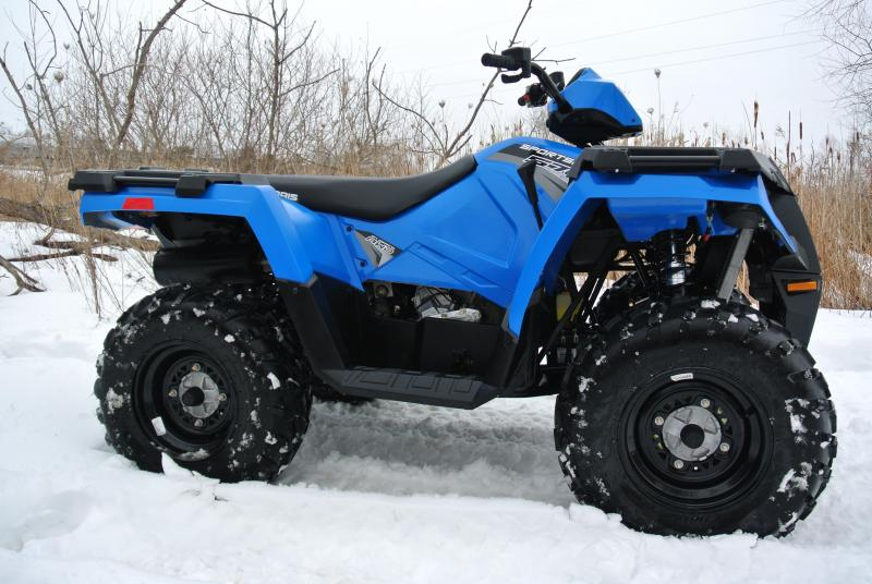 2017 Polaris Sportsman 570 EFI ATV Polaris Blue #8904