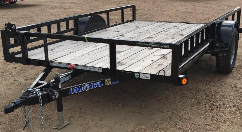 PRICE DROP 12' Single Axle Utility Trailer DELUXE