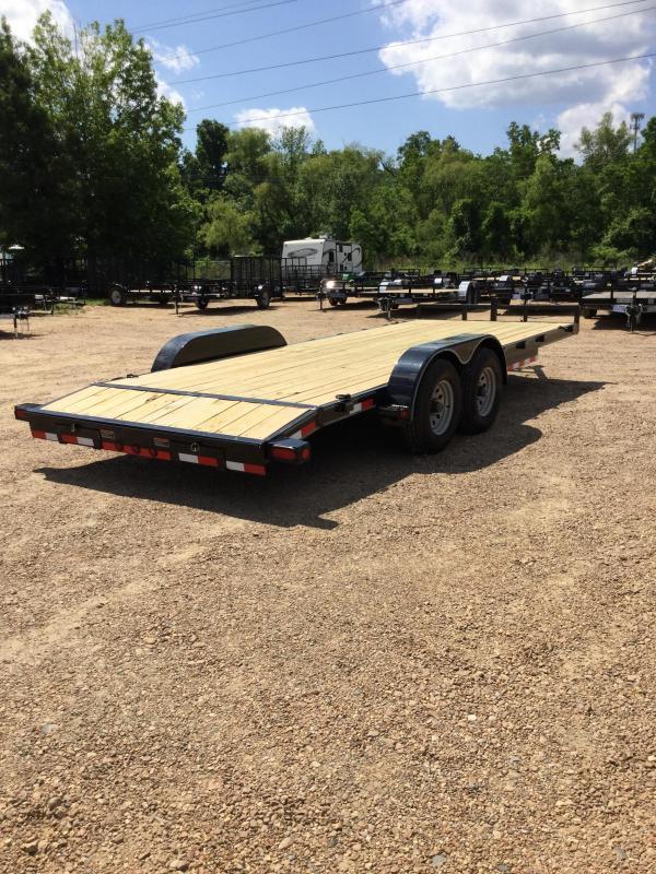 2017 Load Trail 83 X 20 Hd Tandem Axle Car Hauler Load Trail