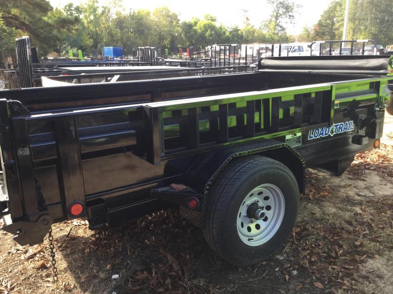 Pulling A Single Axle Open Trailer : Bumper pull dump trailers load trail for sale