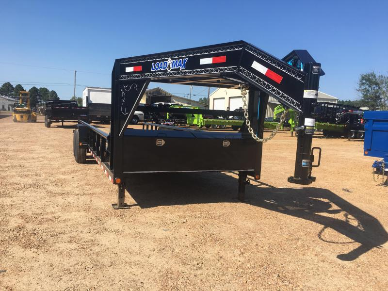 2018 Load Trail 83 x 24 Tandem Axle Gooseneck Trailer w/ Side Rails