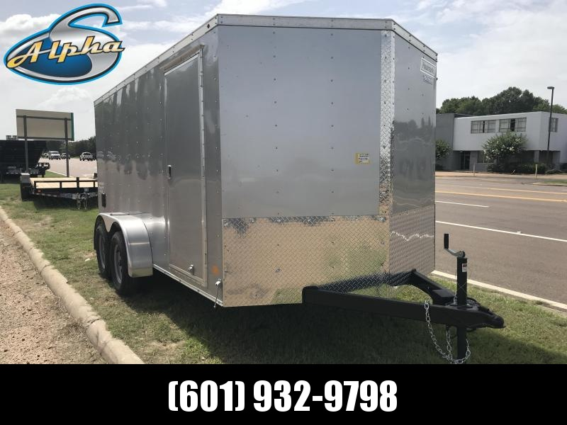 New Haulmark 7 x 14 Tandem Axle Enclosed Trailer