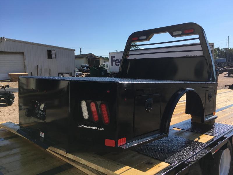 2017 PJ Truck Beds Skirted Flat Bed for General Motors Single Wheel Short Wheel Base