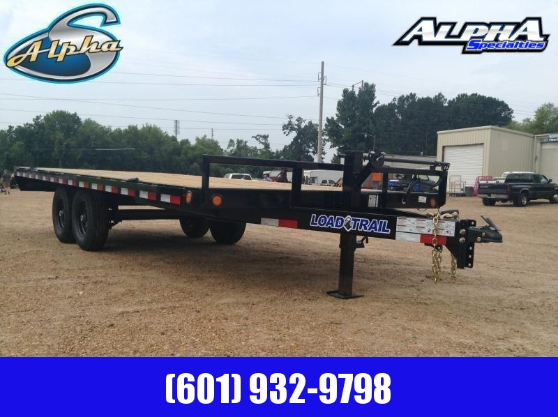 2019 Load Trail 102 x 20 Deckover Flatbed Equipment Trailer 14K GVWR