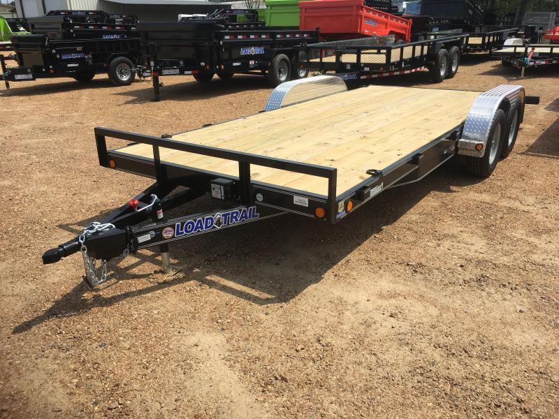 2017 Load Trail 83 X 18 Tandem Axle Car Hauler Load Trail
