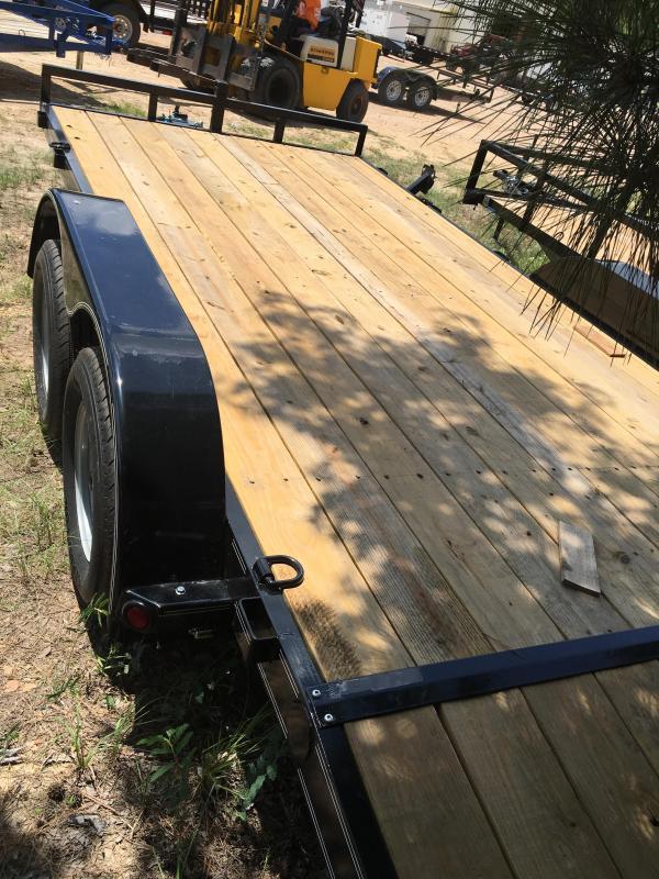 2017 Load Trail 83 X 16 Tandem Axle Car Hauler Load Trail