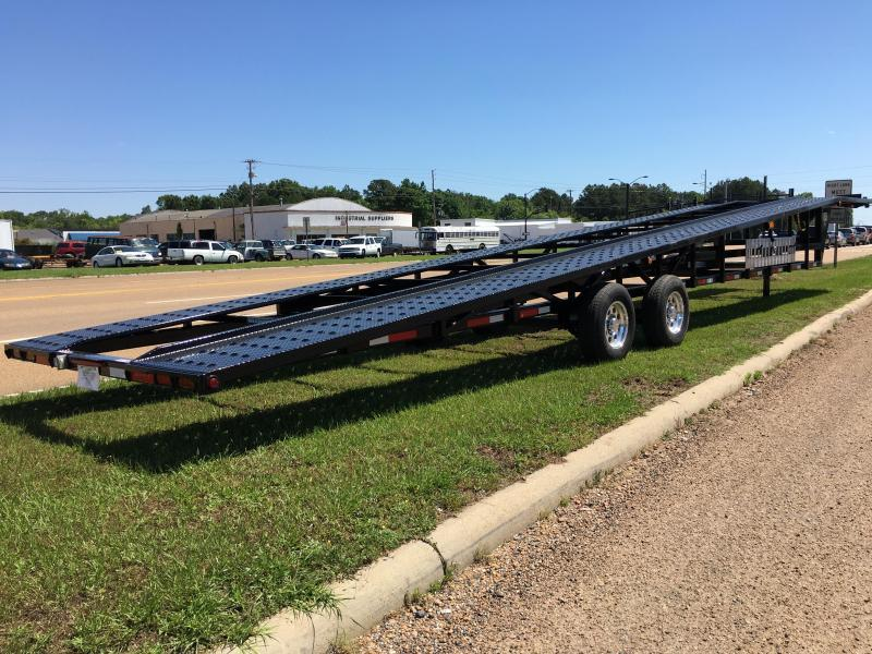 2017 Take 3 Trailers 48 Wedge Trailer Car 3 Car Hauler Load