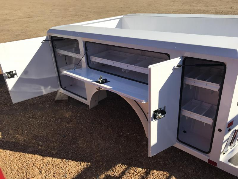 2017 Norstar SC WORK Bed for Ford General Motors Single Wheel Long Wheel Base Truck