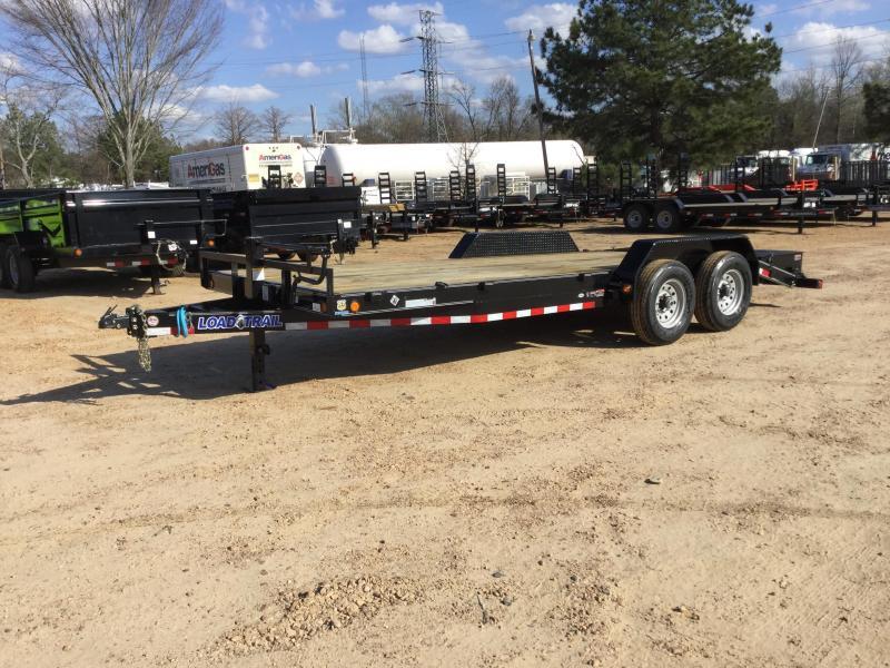 2017 Load Trail 83 X 20 Tandem Axle Carhauler Load Trail